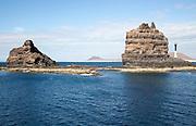 Sea stacks Punta Fariones, Chinijo Archipelago, Orzola, Lanzarote, Canary Islands, Spain
