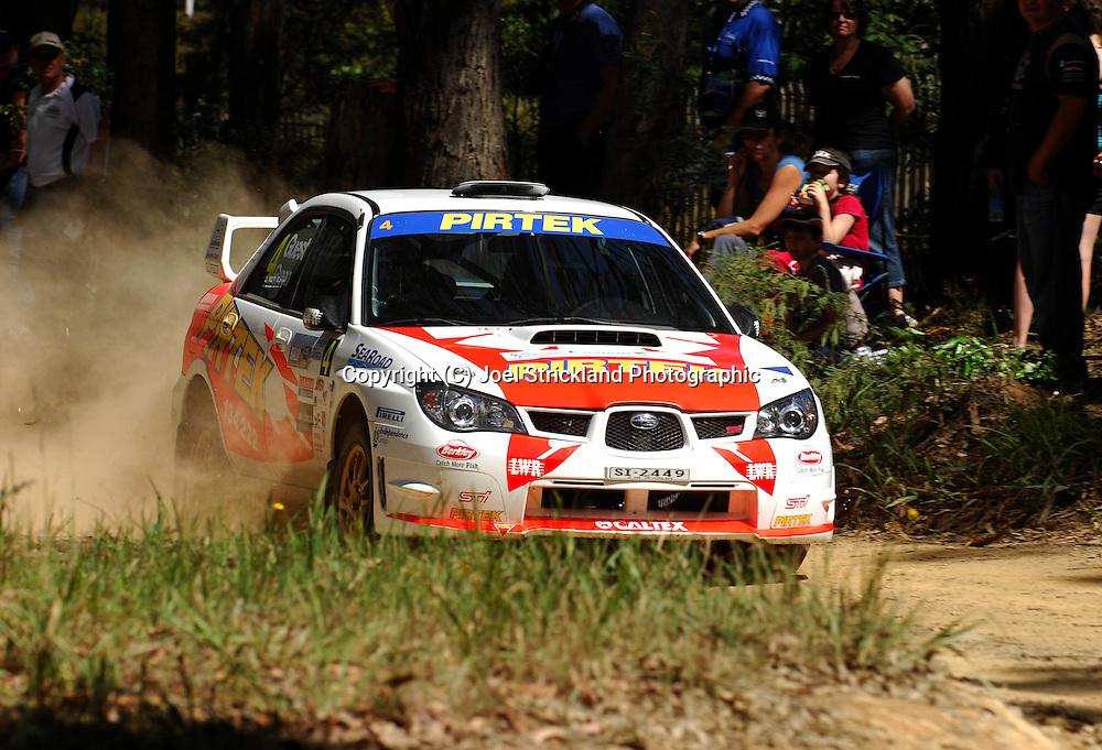Michael Guest & David Green.Motorsport-Rally/2008 Coffs Coast Rally.Heat 1.Coffs Harbour, NSW.15th of November 2008.(C) Joel Strickland Photographics
