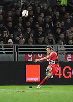 Nicolas SANCHEZ - 14.03.2015 - Lyon OU / Toulon -  20eme journee de Top 14<br /> Photo : Jean Paul Thomas  / Icon Sport<br /> <br />   *** Local Caption ***