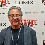 Director Mako Funasaka attend 'Souls of Totality' film at Raindance Film Festival 2018, London, UK. 30 September 2018.