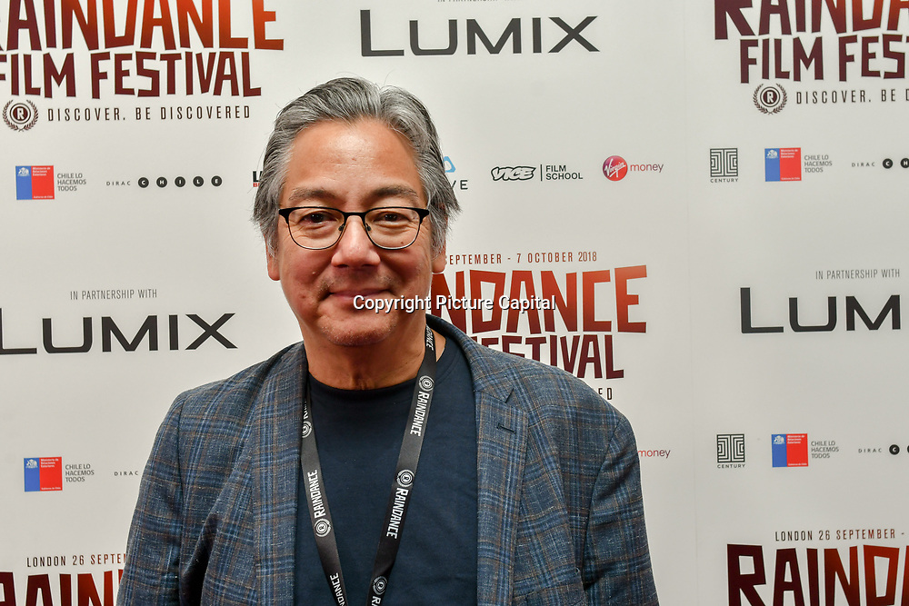 Director Mako Funasaka attend 'Souls of Totality' film at Raindance Film Festival 2018, London, UK. 30 September 2018.