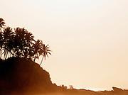 Sunrise over the Indian Ocean at Tangalle, Sri Lanka
