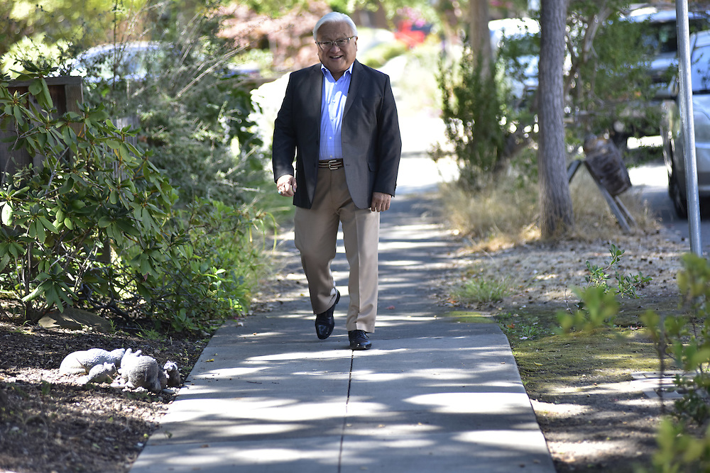 Palo Alto, California - August 16, 2016:<br /> Mike Honda U.S. Representative for California's 17th congressional district, known as Silicon Valley.<br /> CREDIT: Matt Roth