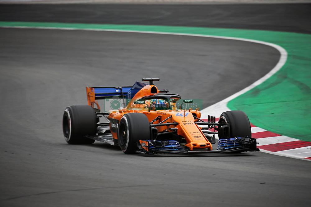 May 16, 2018 - Barcelona, Spain - Lando Norris, team McLaren, during the Formula 1 testing at the Barcelona Catalunya Circuit, on 16th May 2018 in Barcelona, Spain.  Photo: Joan Valls/Urbanandsport /NurPhoto. (Credit Image: © Joan Valls/NurPhoto via ZUMA Press)