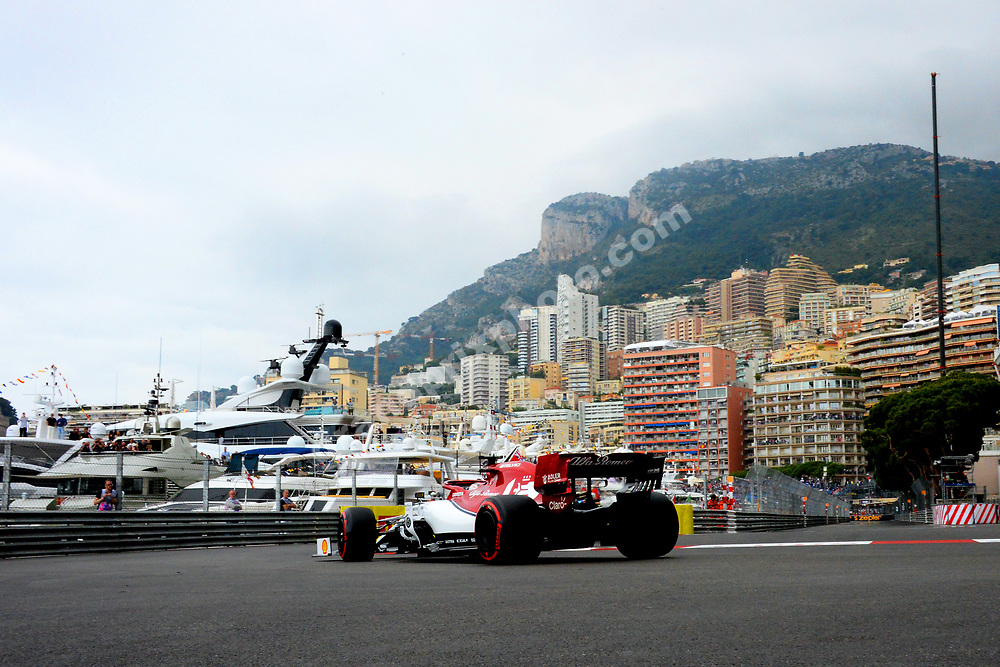 Kimi Raikkonnen (Ferrari) during practice before the 2019 Monaco Grand Prix. Photo: Grand Prix Photo