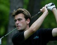 MOLENSCHOT - Robert Schoonhoven.   Voorjaarswedstrijd golf 2003 op GC Toxandria. . COPYRIGHT KOEN SUYK
