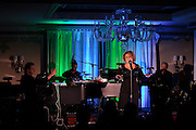 """V001473775. Lorna Luft performs """"Songs My Mother Taught Me: The Judy Garland Songbook"""" at Feinstein's at Loews Regency Hotel, NYC. January 4, 2011. Copyright © 2011 Matthew Eisman/ The New York Times. All Rights Reserved."""