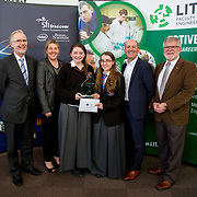 27.04.2016.          <br />  Kalin Foy and Ciara Coyle win SciFest@LIT<br /> Kalin Foy and Ciara Coyle from Colaiste Chiarain Croom to represent Limerick at Ireland's largest science competition.<br /> <br /> Overall winners Colaiste Chiarain Croom students, Kalin Foy and Ciara Coyles project ,To design and manufacture wireless trailer lights. Kalin Foy and Ciara Coyle are pictured with George Porter, SciFest and Brian Ahern, Intel<br /> <br /> Of the over 110 projects exhibited at SciFest@LIT 2016, the top prize on the day went to Kalin Foy and Ciara Coyle from Colaiste Chiarain Croom for their project, 'To design and manufacture wireless trailer lights'. The runner-up prize went to a team from John the Baptist Community School, Hospital with their project on 'Educating the Youth of Ireland about Farm Safety'.  Picture: Alan Place