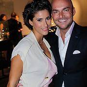 NLD/Amsterdam/20121013- LAF Fair 2012 VIP Night, Kristina Bozilovic en Marc Lubach