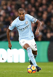 Manchester City's Fernandinho