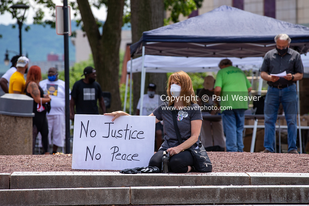 Wilkes-Barre, PA (July 11, 2020) -- Black Lives Matter NEPA United Movement organized a march and demonstration at Wilkes-Barre Public Square.