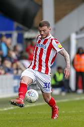 March 9, 2019 - London, England, United Kingdom - Stoke City's Tom Edwards during the first half of the Sky Bet Championship match between Queens Park Rangers and Stoke City at Loftus Road Stadium, London on Saturday 9th March 2019. (Credit Image: © Mi News/NurPhoto via ZUMA Press)