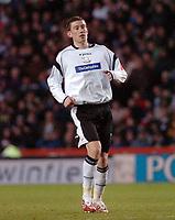 Photo: Kevin Poolman.<br />Derby County v Crystal Palace. Coca Cola Championship. 16/12/2006. Derby goalscorer David Jones.