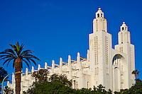 Maroc, Casablanca, Cathedrale du Sacre Coeur, 1930-1953, Paul Tournon // Morocco, Casablanca, Sacre Coeur Cathedral, 1930-1953, Paul Tournon architect