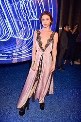 Billie JD Porter at the Warner Music & Ciroc Brit Awards party, Freemasons Hall, 60 Great Queen Street, London England. 22 February 2017.