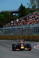 06.06.2015, Circuit Gilles Villeneuve, Montreal, CAN, FIA, Formel 1, Grand Prix von Kanada, Qualifying, im Bild Daniel Ricciardo (AUS) Red Bull Racing RB11 // during Qualifyings of the Canadian Formula One Grand Prix at the Circuit Gilles Villeneuve in Montreal, Canada on 2015/06/06. EXPA Pictures © 2015, PhotoCredit: EXPA/ Sutton Images/ Patrick Vinet<br /> <br /> *****ATTENTION - for AUT, SLO, CRO, SRB, BIH, MAZ only*****