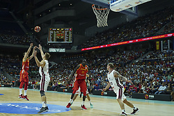 September 17, 2018 - Madrid, Madrid, Spain - Sergio Rodriguez of Spain in action  during the 2019 FIBA Basketball World Cup qualification match between Spain and Latvia at WiZink Center in Madrid, Spain, 17 September 2018  (Credit Image: © Oscar Gonzalez/NurPhoto/ZUMA Press)