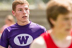 Maine State Track & Field Meet, Class B: boys 300 hurdles, Jordhan Levine, Waterville