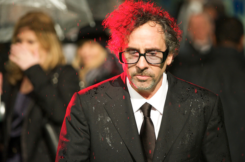 Director Tim Burton attend the Royal World Premiere of 'Alice in Wonderland' at the Odeon Leicester Square in London.