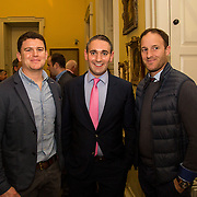 08.12.2016                   <br /> Pictured at the launch of the Shannon Airport Christmas Racing Festival at Hunt Museum were, Alan McMahon, Conor O'Neill and Keith Lyons. Picture: Alan Place