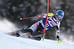 06.01.2014, Stelvio, Bormio, ITA, FIS Ski Alpin Weltcup, Salom, Herren, 1. Durchgang, im Bild Benjamin Raich (AUT) // Benjamin Raich of Austria in action during 1st run of mens Slalom of the Bormio FIS Ski World Cup at the Stelvio Course in Bormio, Italy on 2014/01/06. EXPA Pictures © 2014, PhotoCredit: EXPA/ Sammy Minkoff<br /> <br /> *****ATTENTION - OUT of GER*****