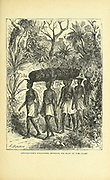 Livingstone's followers bring his body to the coast From the book ' David Livingstone ' by Brice, A. H. M. (Arthur Hallam Montefiore), 1859-1927 Published by United Brethren Pub. House, Dayton, Ohio in 1880