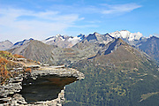Austria, Alps mountain landscape