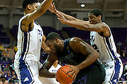 FORT WORTH, TX - JANUARY 7: Thomas Gipson #42 of the Kansas State Wildcats battles in the post against the TCU Horned Frogs on January 7, 2014 at Daniel-Meyer Coliseum in Fort Worth, Texas.  (Photo by Cooper Neill/Getty Images) *** Local Caption *** Thomas Gipson