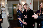 RACHEL JOHNSON; LINDSAY FULCHER, Rachel's Johnson's 'A Diary of the Lady'book launch at The Lady's offices. Covent Garden. London. 30 September 2010. -DO NOT ARCHIVE-© Copyright Photograph by Dafydd Jones. 248 Clapham Rd. London SW9 0PZ. Tel 0207 820 0771. www.dafjones.com.