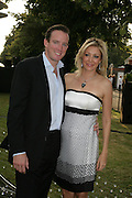 Rupert Adams and Nadja Swarovski, The Summer Party in association with Swarovski. Co-Chairs: Zaha Hadid and Dennis Hopper, Serpentine Gallery. London. 11 July 2007. <br /> -DO NOT ARCHIVE-© Copyright Photograph by Dafydd Jones. 248 Clapham Rd. London SW9 0PZ. Tel 0207 820 0771. www.dafjones.com.