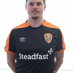 BRISBANE, AUSTRALIA - MARCH 17:  poses for a photo during the Brisbane Roar Youth headshot session at QUT Kelvin Grove on March 17, 2017 in Brisbane, Australia. (Photo by Patrick Kearney/Brisbane Roar)