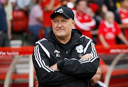 Cardiff City Manager Russell Slade before the match - Mandatory byline: Jack Phillips / JMP - 07966386802 - 29/8/2015 - FOOTBALL - The City Ground - Nottingham, Nottinghamshire - Nottingham Forest v Cardiff City - Sky Bet Championship
