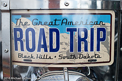 Road Trip - the journey begins for the annual Sturgis Black Hills Motorcycle Rally.  SD, USA.  August 6, 2016.  Photography ©2016 Michael Lichter.
