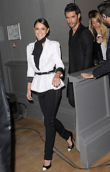 October 19, 2016 - File - Singer and X-Factor host CHERYL FERNANDEZ-VERSINI aka Cheryl Tweedy, who is now dating Liam Payne, is officially divorced. Married for 18 months, Cheryl, 33, and JEAN-BERNARD FERNANDEZ-VERSINI received the decree nisi Wednesday that terminates their marriage. Pictured: Jan. 29, 2015 - Paris, GRAND PALAIS, France - Cheryl Fernandez-Versini And Her Boyfriend - Ralph & Russo Fashion Show, Haute Couture Spring Summer 2015. (Credit Image: © Visual/ZUMA Wire)