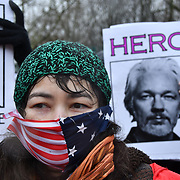 Julian Assange extradition hearing at Woolwich Crown Court, London, UK