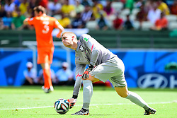 29.06.2014, Castelao, Fortaleza, BRA, FIFA WM, Niederlande vs Mexico, Achtelfinale, im Bild Jasper Cillessen (Niederlande) // during last sixteen match between Netherlands and Mexico of the FIFA Worldcup Brazil 2014 at the Castelao in Fortaleza, Brazil on 2014/06/29. EXPA Pictures © 2014, PhotoCredit: EXPA/ fotogloria/ Best Photo Agency<br /> <br /> *****ATTENTION - for AUT, FRA, POL, SLO, CRO, SRB, BIH, MAZ only*****