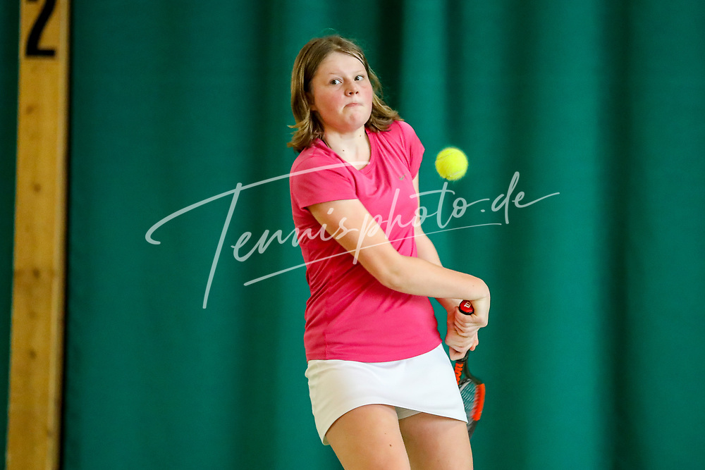 Corinna Rietmann (Tennis-Club SCC Berlin), TVBB-Jugendhallenmeisterschaften 2020 U16/U18, Seeburg, 12.1.2020, Foto: Claudio Gärtner