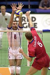 17-07-2000 VOLLEYBAL: WLV ITALIE - BRAZILIE: ROTTERDAM<br /> Italie wint de finale met 3-2 van Rusland / Marco Bracci<br /> ©2000-FotoHoogendoorn.nl