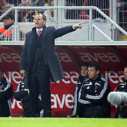 Ajax's coach Frank De BOER during their Friendly soccer match Galatasaray between Ajax at the Turk Telekom Arena at Arslantepe in Istanbul Turkey on Saturday 15 January 2011. Turkish soccer team Galatasaray new stadium Turk Telekom Arena opening ceremony. Photo by TURKPIX