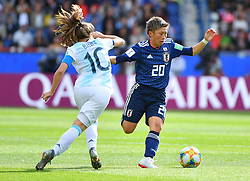 Ippolito during the FIFA Women's World Cup group D first round soccer match between Argentina and Japan at Parc des Princes Stadium in Paris, France on June 10, 2019. The FIFA Women's World Cup France 2019 will take place in France from 7 June until 7 July 2019. Photo by Christian Liewig/ABACAPRESS.COM