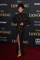 "The World Premiere Of Disney's ""THE LION KING"". 09 Jul 2019 Pictured: Yara Shahadi. Photo credit: Jen Lowery / MEGA TheMegaAgency.com +1 888 505 6342"