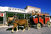 Image of a stagecoach on Main Street in downtown Tombstone, Arizona, American Southwest by Randy Wells