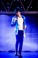 Peter Andre  guest stars in 'Thriller LIve' for two weeks at the  Lyric Theatre in London, England. 10th December 2019.