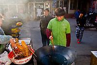 Street market, Zhenjiang, China