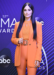 Keith Urban at the 52nd Annual CMA Awards at the Bridgetone Arena on November 14, 2018 iin Nashville, Tennessee. (Photo by Scott Kirkland/PictureGroup). 14 Nov 2018 Pictured: Kacey Musgraves. Photo credit: Scott Kirkland/PictureGroup / MEGA TheMegaAgency.com +1 888 505 6342
