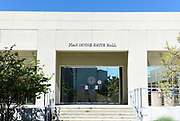 The Joan Irvine Smith Hall on Campus at the University of California Irvine