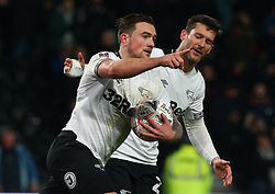 January 5, 2019 - Derby, England, United Kingdom - Derby, England - 05 January, 2019.Derby County's Jack Marriott celebrates his goal.during FA Cup 3rd Round between Derby County  and Southampton at Pride Park stadium , Derby, England on 05 Jan 2019. (Credit Image: © Action Foto Sport/NurPhoto via ZUMA Press)