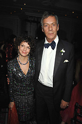 HENRY CECIL and MARIA NIARCHOS at the 17th annual Cartier Racing Awards 2007 held at the Four Seasons Hotel, Hamilton Place, London on 14th November 2007.<br />