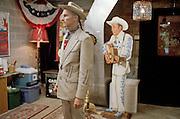 Hank Williams III (Hank 3) Wearing Hank Williams' Suit (Photo: Tara Israel)