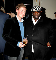 Left to right, GUY PELLY and ADE at a party to celebrate the launch of The Essential Party Guide held at the Mandarin Oriental Hyde Park, 66 Knightsbridge, London on 27th March 2007.<br />